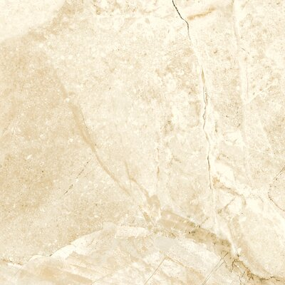 Alpine 24 x 24 Porcelain Field Tile in Cream (Set of 3)