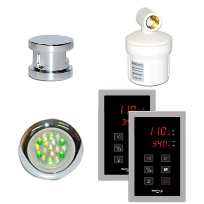 SteamSpa Royal Touch Panel Control Kit Finish: Chrome