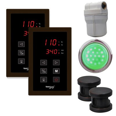 SteamSpa Royal Touch Panel Control Kit Finish: Oil Rubbed Bronze