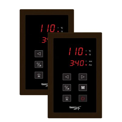 Royal 10.5 kW QuickStart Steam Bath Generator Package Finish: Oil Rubbed Bronze