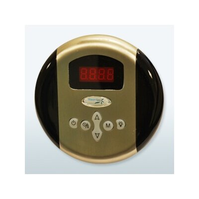 SteamSpa Programmable Control Panel with Presets Finish: Brushed Nickel