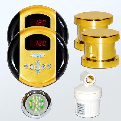 SteamSpa Royal Control Kit Finish: Gold