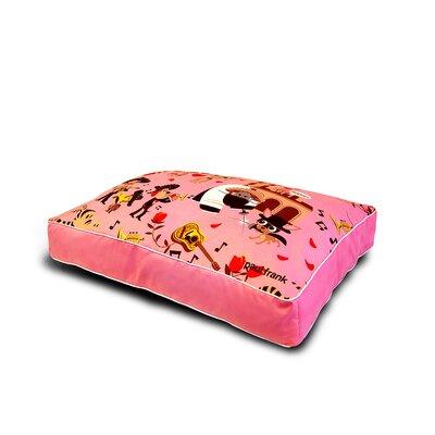 Paul Frank Wedding Bells Dog Pillow Size: Queen (22 L)