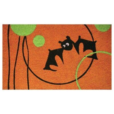 Circle Bat Doormat