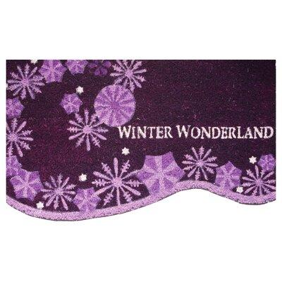 Snowflake Swirl Doormat
