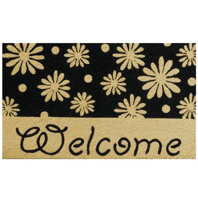 Welcome Daisies Doormat