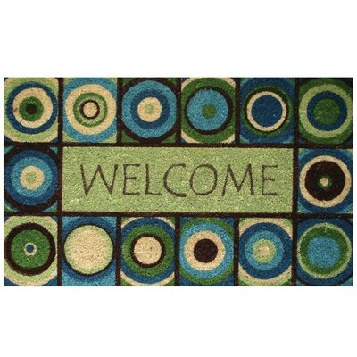Welcome Circles Doormat