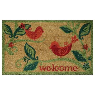 Paisley Birds Doormat