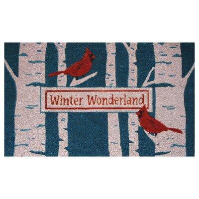 Cardinal Birch Doormat
