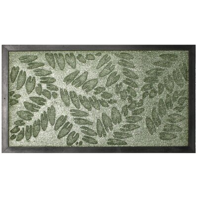 Fern Leaf Embossed Doormat