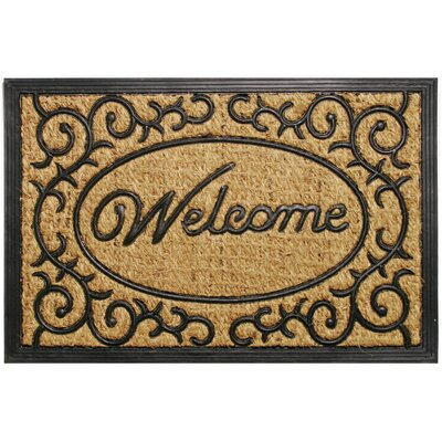 Welcome Scroll Promotional Doormat