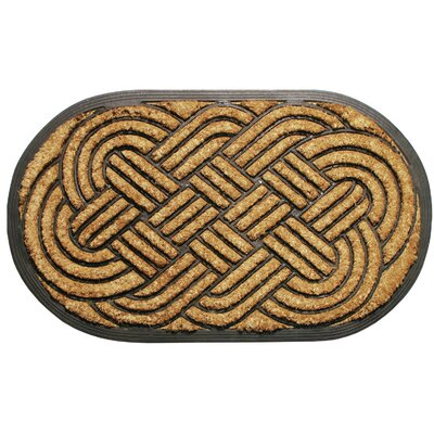 Natural Oval Weave Doormat