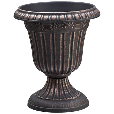Traditional Plastic Urn Planter