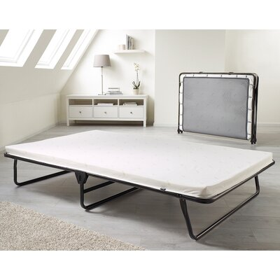 Saver Folding Bed with Airflow Fiber Mattress Size: Single