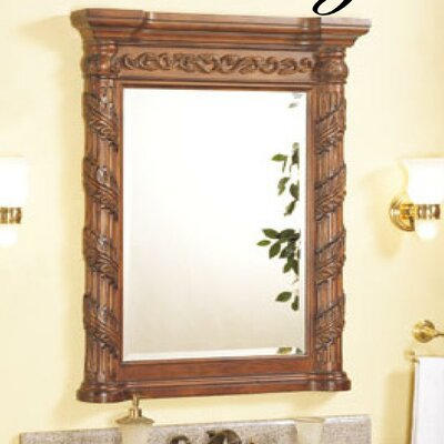 "Tuscany Bathroom Vanity Mirror Size: 24"" W"