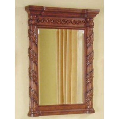 "Tuscany Bathroom Vanity Mirror Size: 30"" W"