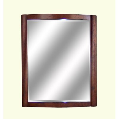 bathroom vanity mirror in cognac size 24 inches wall mirror mart