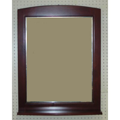 "Windsor Bathroom Vanity Mirror Finish: Cognac, Size: 32"" H x 24"" W"