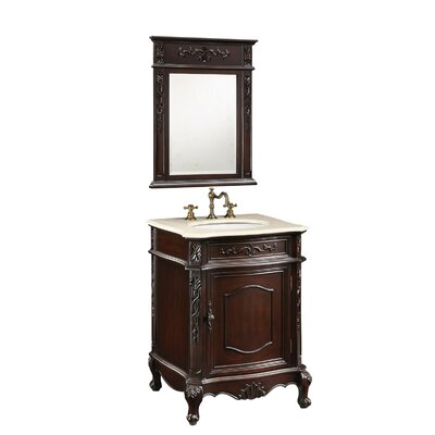 "Empire Industries Verona Bath Vanity - Finish: Antique White, Size: 24"" at Sears.com"