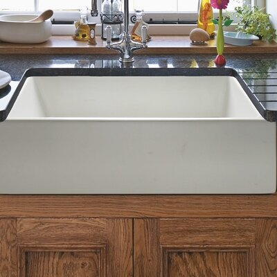 Caesar 24x18 Farmhouse Kitchen Sink Set with Free Grid