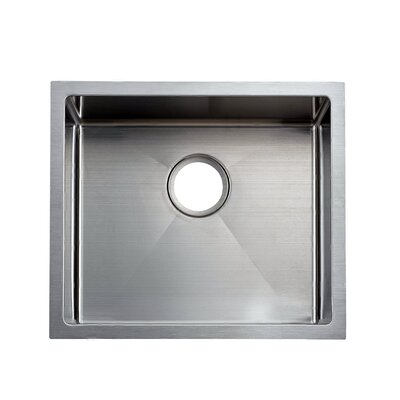 22 x 18 Handmade Undermount Stainless Steel Kitchen Sink
