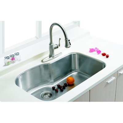 31.88 x 20.63 Single Undermount Kitchen Sink