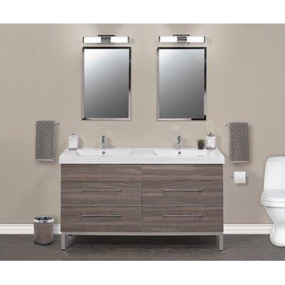 Daytona 60 Double Sink Bathroom Vanity Set