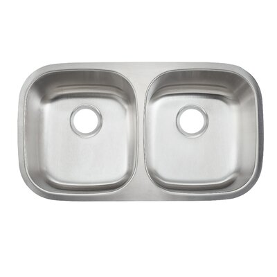 Stainless Steal 16 Gauge Double Undermount Sink