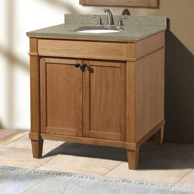 Cambridge 30 Single Vanity Set Sink Finish: Biscuit