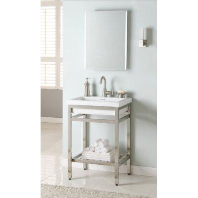 South Beach 24 Single Bathroom Vanity Set