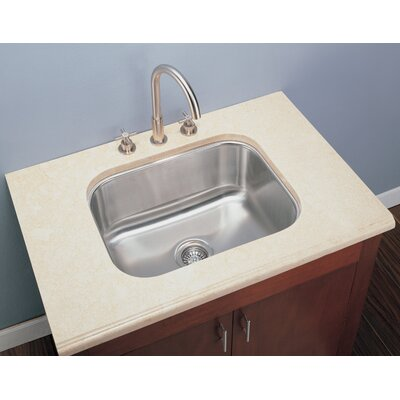 23 x 17.75 Rectangular Single Undermount Kitchen Sink