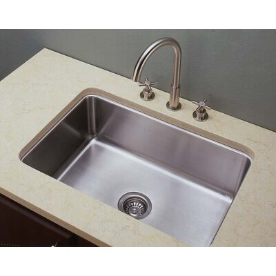 27 x 18 Single Undermount Kitchen Sink