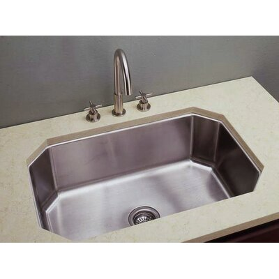 31 x 20 Hexagonal Single Undermount Kitchen Sink