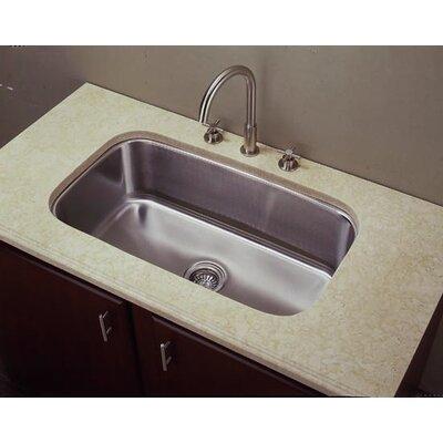 31.5 x 18.5 Single Undermount Kitchen Sink