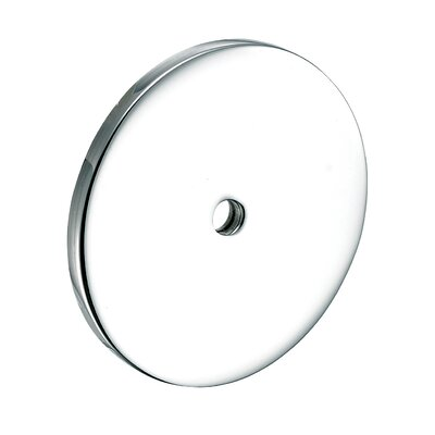 Tempo Large Round Back Plate Finish: Polished