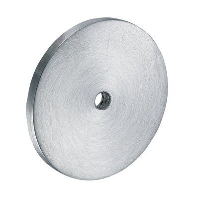 Tempo Large Round Back Plate Finish: Satin