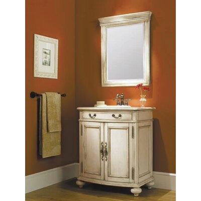 Madison 30 Bathroom Vanity Base Base Finish: Antique White
