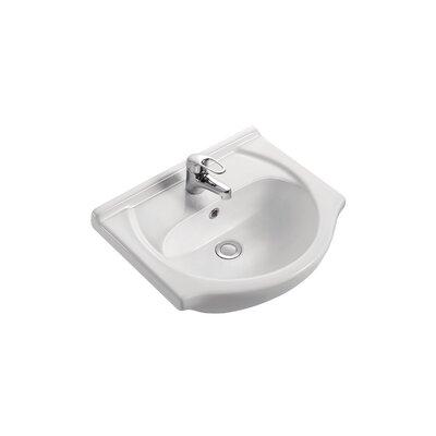 Capri 20 Pedestal Bathroom Sink