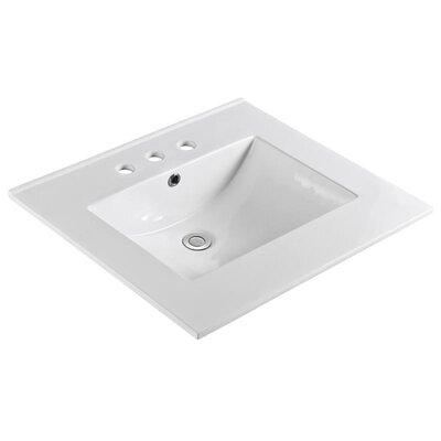 Unique 31 Single Bathroom Vanity Top Faucet Mount: Widespread
