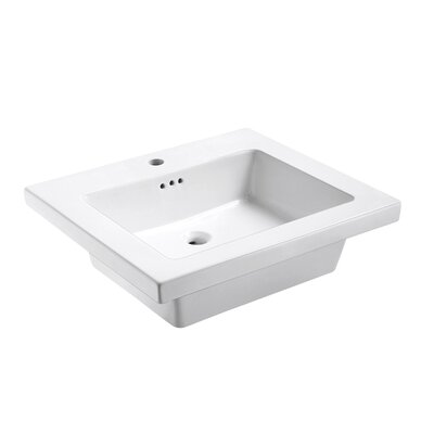 Eclipse 25 Single Bathroom Vanity Top Faucet Mount: Single
