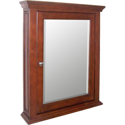 Windsor 24.9 x 30.12 Recessed Medicine Cabinet Finish: Cognac