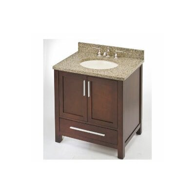 Monaco 24 Single Bathroom Vanity Base