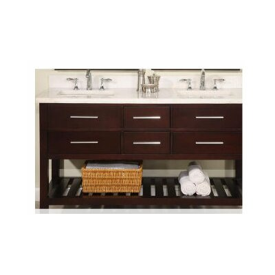Priva 60 Double Bathroom Vanity