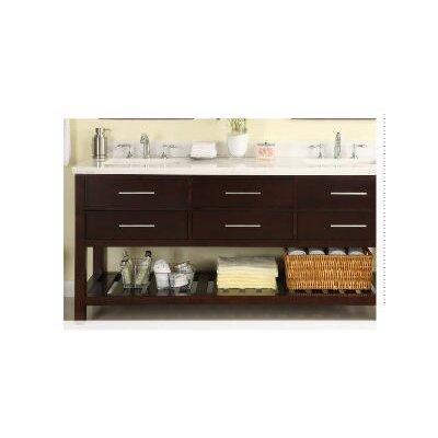 Priva 72 Double Bathroom Vanity Base
