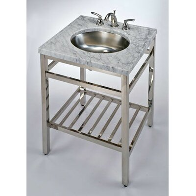 South Beach 24 Single Bathroom Vanity Base Base Finish: Polished Chrome