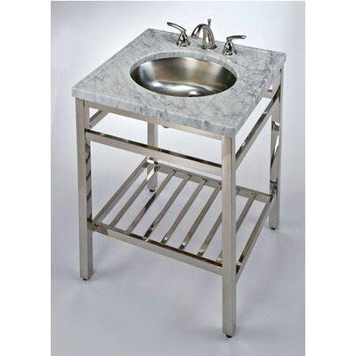 South Beach 24 Single Bathroom Vanity Base Base Finish: Satin Nickel