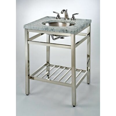 South Beach 31 Single Bathroom Vanity Base Base Finish: Satin Nickel
