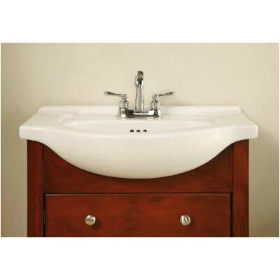 Windsor Narrow Depth Bathroom Vanity Base Size: 30, Base Finish: Cognac