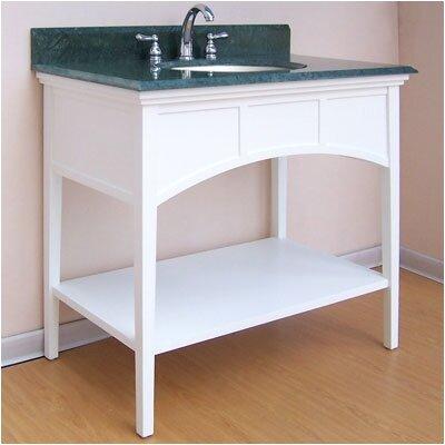 Buckingham 300 Console Bathroom Vanity Base Base Finish: White, Size: 36