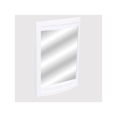 bathroom vanity mirror finish white size 24 inches wall mirror